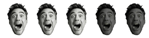 3 Robert Downey Heads